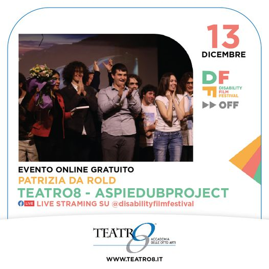 teatro8 torino Disability Film Festival OFF