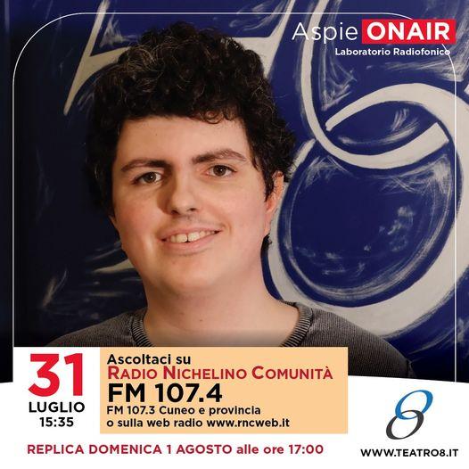 Domani, Sabato 31 Luglio si torna su Radio RNC